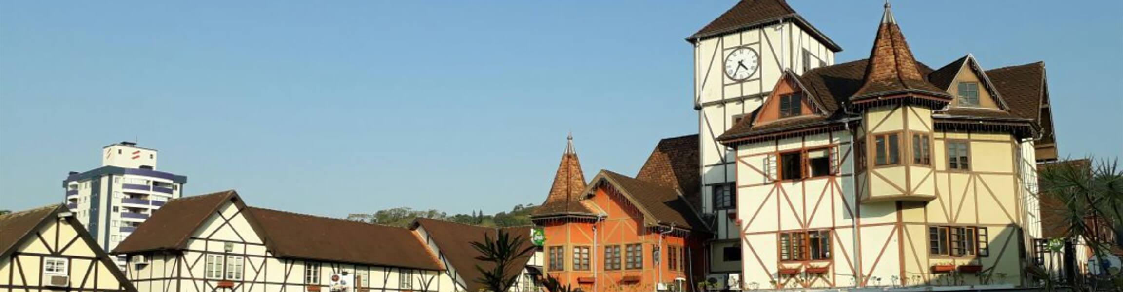 Imagem da cidade de Blumenau